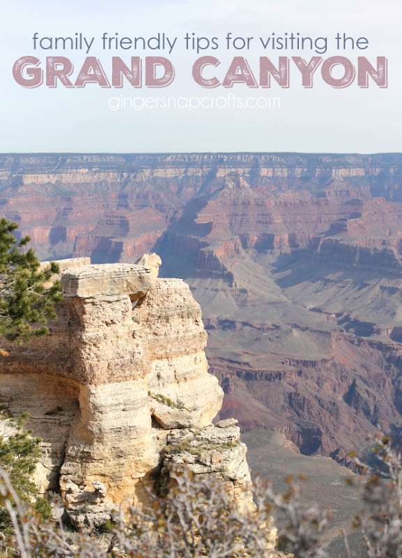 Family Friendly Tips for Visiting the Grand Canyon at GingerSnapCrafts.com #grandcanyon #roadtrip #family