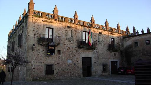 Cáceres midden Spanje