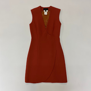 Derek Lam Burt Sienna Sample Dress