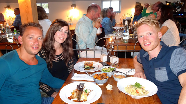 dinner at Restaurant de Worsteltent on Texel in Texel, Noord Holland, Netherlands