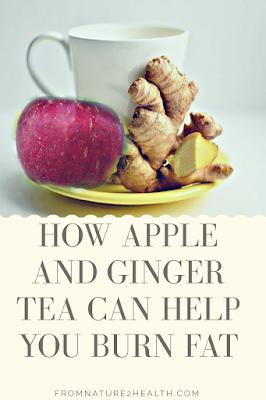 Apple and Ginger Tea for Burn Fat