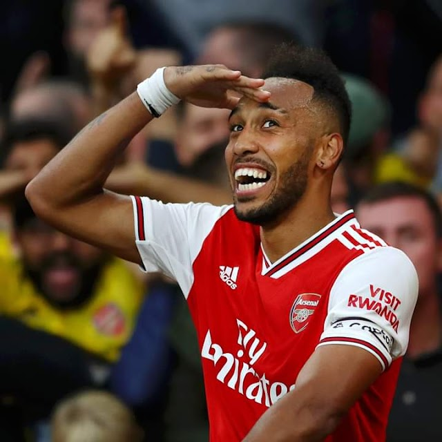 Read what Arsenal fans are saying after Aubameyang won Premier league player of the month 🎊