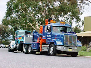 Racing Truck on tow