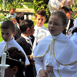 Slávnosť prvého svätého prijímania v Krížovej Vsi.