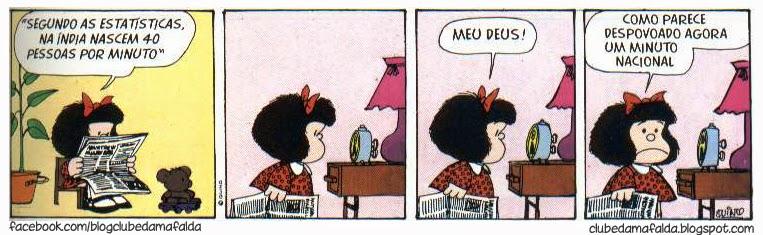 Clube da Mafalda: Tirinha 572