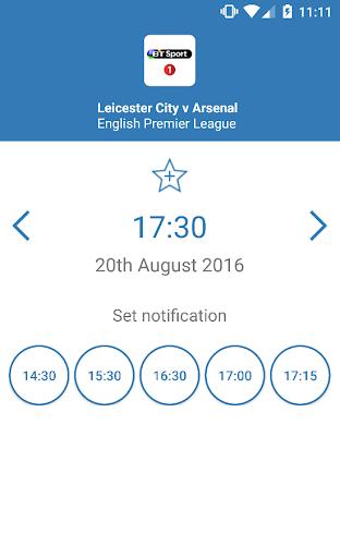 UK Live Sport TV Guide 2.01 screenshots 4