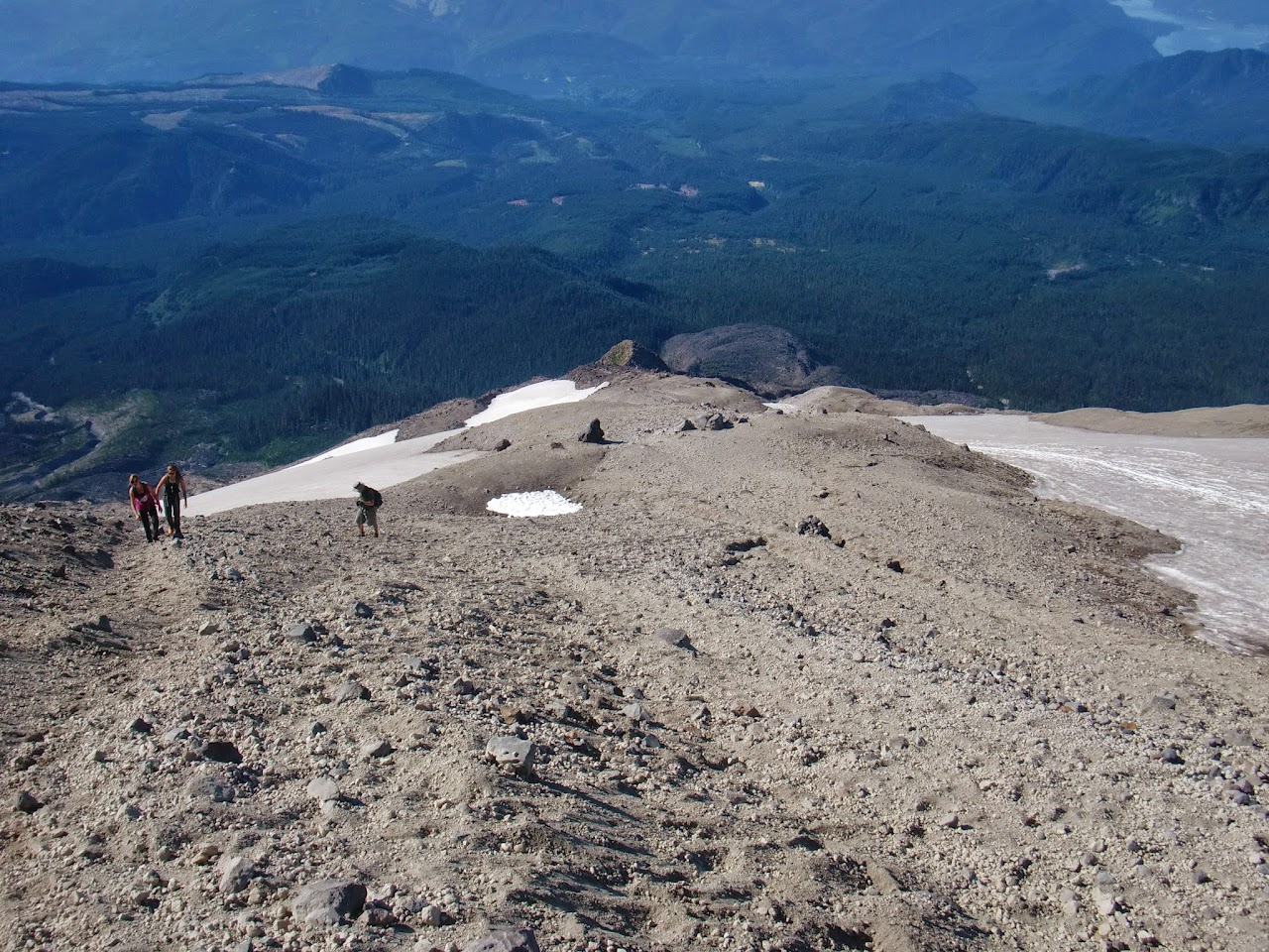 Mount Saint Helens Summit 2014 - CIMG5747.JPG