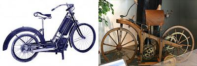 Sejarah otomotif, 10 kejadian pertama dunia otomotif,reitwagen,Hildebrand und Wolfműller, motor pertama di dunia