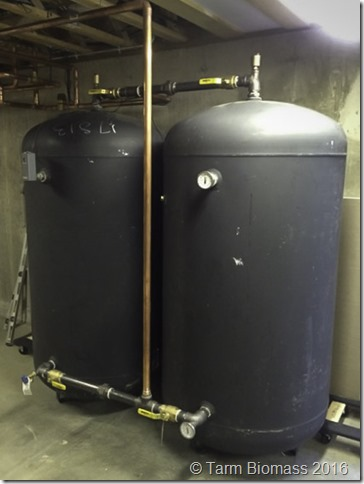 Tarm Biomass 300 Gallon Tanks