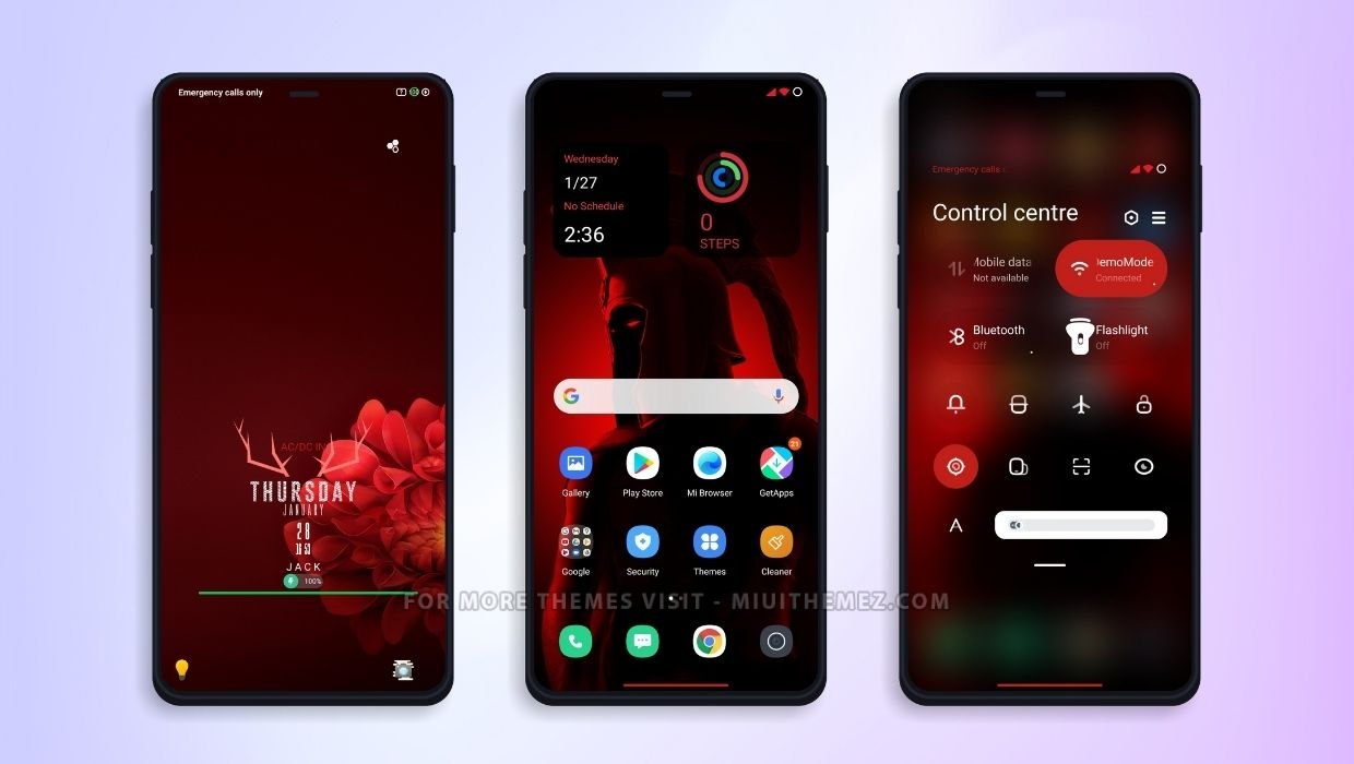 RED -P.A MIUI Theme