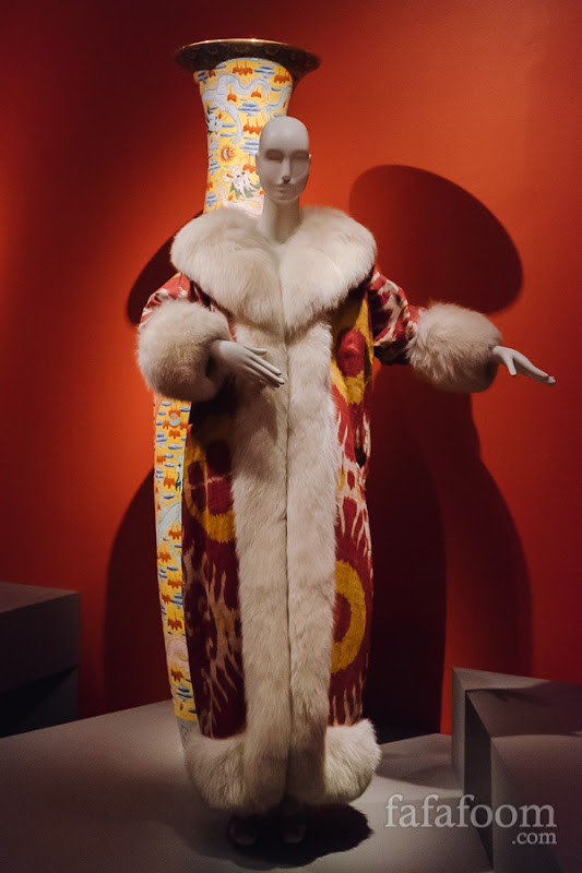 Oscar de la Renta for Maximilian, Evening coat, Fall 1966.