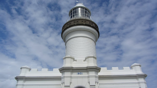 The Cape Byron Lighthouse.
