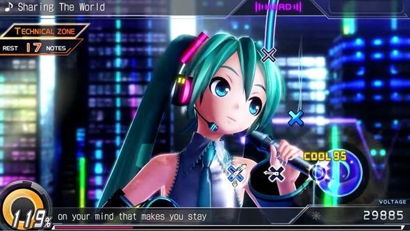 Hatsune Miku Project Diva X