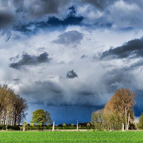 cloudy sunday sky by Axel K. Böttcher - Uncategorized All Uncategorized