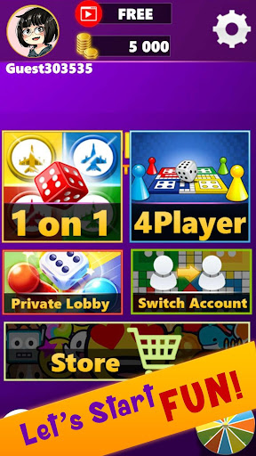 Ludo Club King : Free Multiplayer Dice Game android2mod screenshots 5