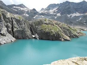 Photo: Eclaircie au Lac du Milieu .