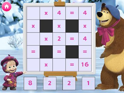 Masha and the Bear. Educational Games 7
