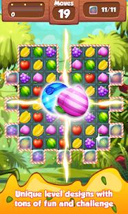 Fruit Crush Match 3 Frenzy - náhled