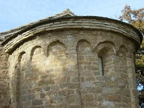 Photo: Odena, detall capella de Sant Miquel s.XI-XII
