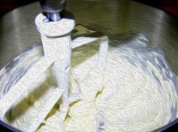 Fit your electric mixer with a the paddle attachment.In the mixer bowl, add salt,...