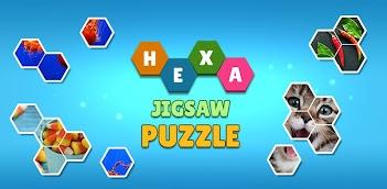 Jouez à Hexa Jigsaw Puzzle ™ sur PC, le tour est joué, pas à pas!