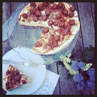 Malted Chocolate and Toffee Cheesecake