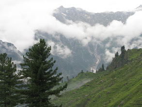 Photo: While climbing Rohtang, you get to see clouds above, below, and all around you