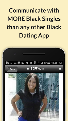 BDFF ♥ 100% Free Black Dating screenshot