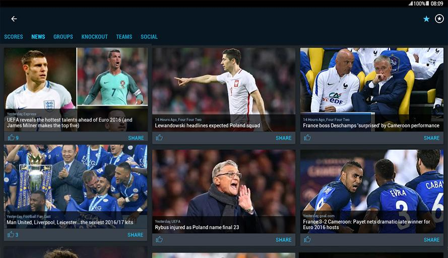 365Scores - Live Sports Score, News & Highlights- screenshot