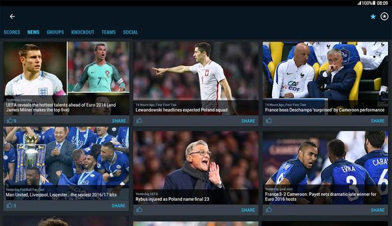 365Scores - Live Sports Score, News & Highlights Screenshot 11