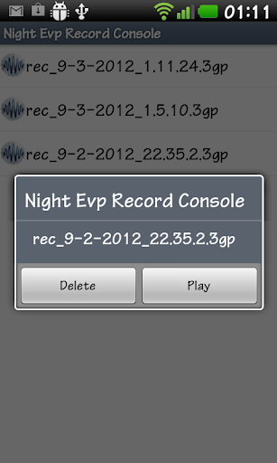 Free Evp sound reconding by RoxR (Google Play, United States