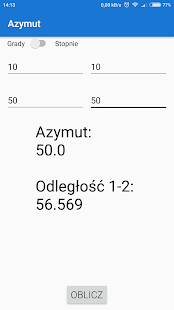 Geo Kalk - Kalkulator Geodezyjny - náhled