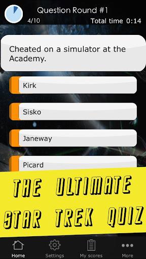 Quiz for Star Trek