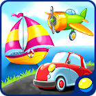 Learning Transport Vehicles for Kids and Toddlers icon