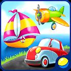 Изучаем виды транспорта - развивающая детская игра icon