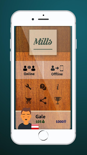Mills | Nine Men's Morris - Free online board game screenshots 2