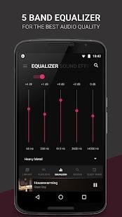 BlackPlayer Music Player Screenshot