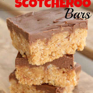 No Bake Scotcheroo Bars