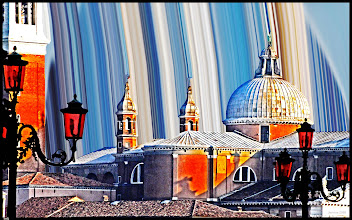 Photo: Panorama of Venice (Acting with colored background)