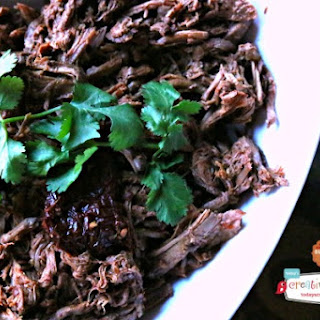 Chipotle Pepper Crockpot Shredded Beef