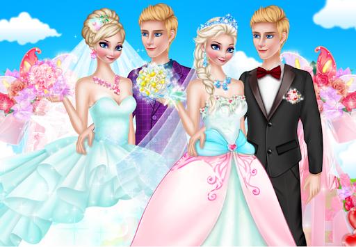 公主的婚礼化妆 - 女孩装扮游戏