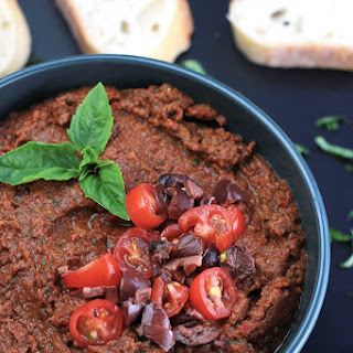 Healing The Vegan Way - Sun Dried Tomato Tapenade