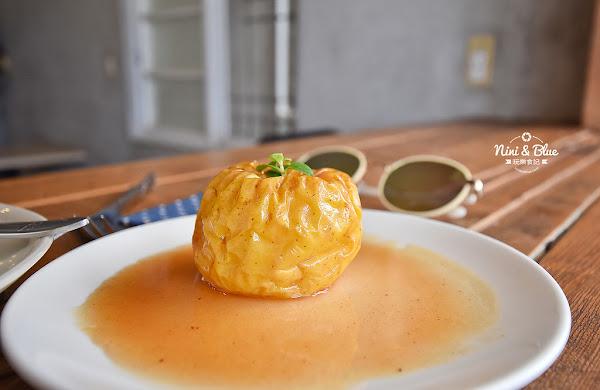 台東早午餐| 有時散步 ,烤蘋果香甜好吃,附菜單