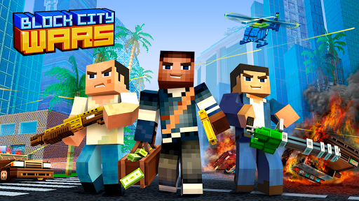 Block City Wars: Pixel Shooter with Battle Royale Apk 1