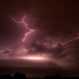 Storm  by Robert Grim - Landscapes Weather ( landscapes, storm, lighting, europe, storms,  )