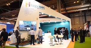 Stand de Hispatec en la última edición de Fruit Attraction.