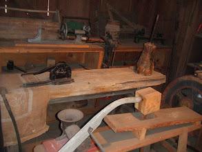Photo: inside Lowe's Barn