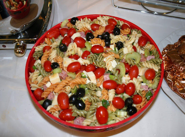 Antipasto Style Pasta Salad Recipe