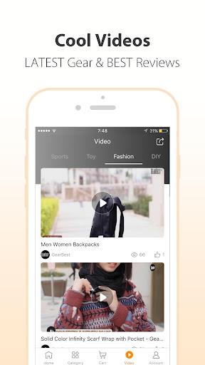 GearBest Online Shopping 4.1.0 screenshots 4