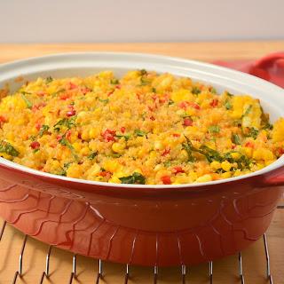 Summery Corn Quinoa Casserole